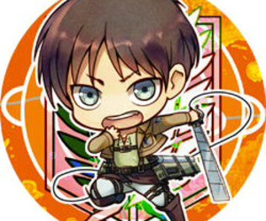 chibi, anime, and attack on titan image