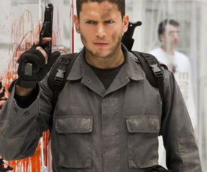 wentworth miller, resident evil, and chris redfield image