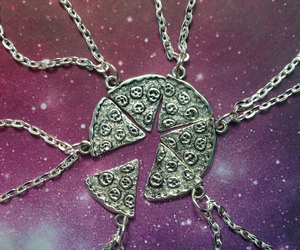 pizza and necklace image