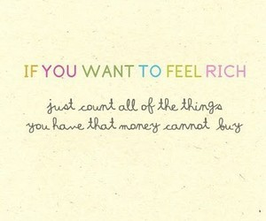 quote, text, and rich image