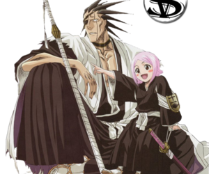 anime, bleach, and kenpachi image