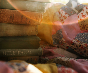 book and quilt image