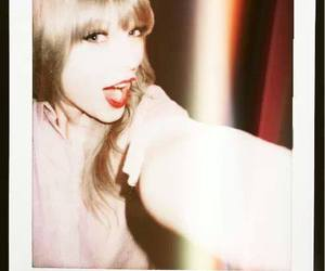 Taylor Swift, polaroid, and smile image