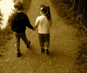 couples, cute kids, and in love image