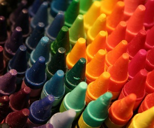 crayon, colors, and colorful image