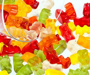 gummy, bear, and food image