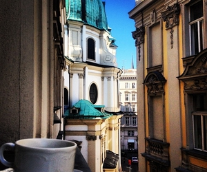 coffee, austria, and city image