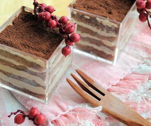 chocolate, dessert, and tiramisu image