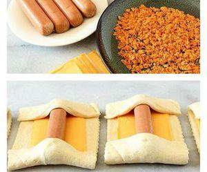 food, diy, and sausage image