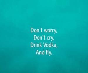 fly, vodka, and cry image