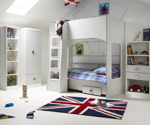 girl bunk beds, bunk beds for toddlers, and bunk beds with slides image