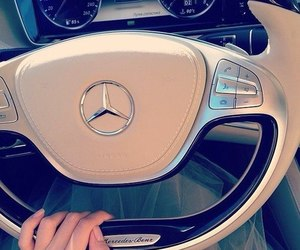 luxury, car, and mercedes image