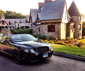 house, luxury, and car image