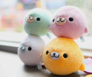 kawaii, japan, and plush image