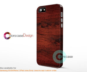 iphone, brown wood, and iphone 5s case image