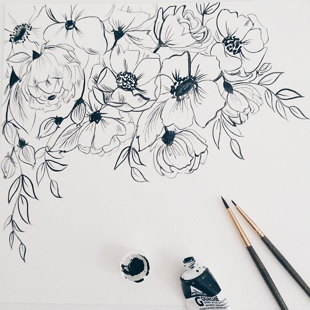 56 images about ink drawings on We Heart It | See more about drawing