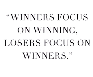 winner and quote image