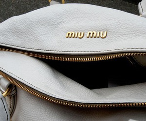 miu miu, fashion, and bag image