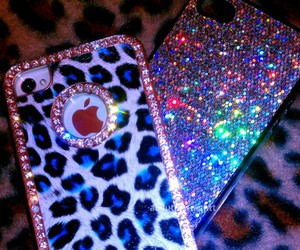 iphone and glitter image