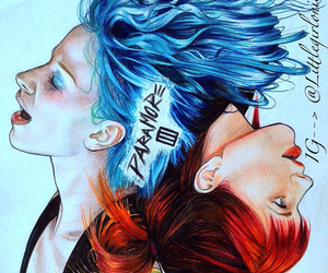 paramore, hayley williams, and art image