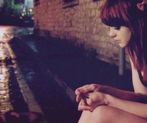 girl, skin, and sad image
