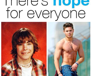 zac efron, hope, and sexy image