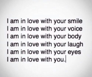 love, smile, and body image