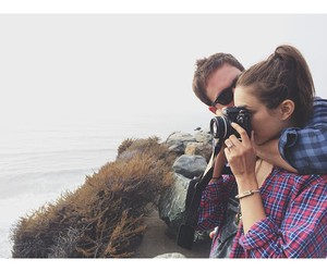 couple, troian bellisario, and nature image