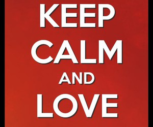 dogs, love, and keep calm image