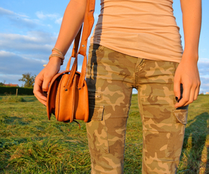 beautiful, blogger, and camouflage image