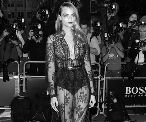 dress and cara delevingne image