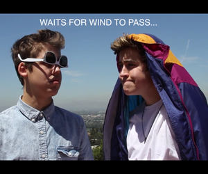 wind, nash grier, and magcon image
