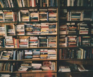 books, hipster, and indie image