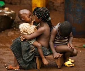 africa, siblings, and love image