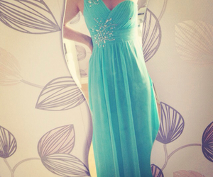 blue, girl, and Prom image