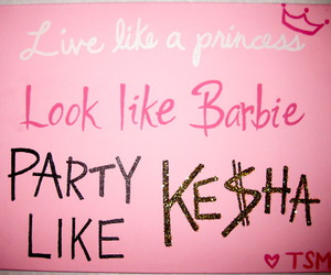 barbie, this, and kesha image