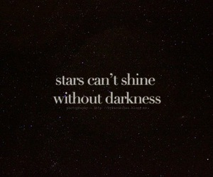 Darkness, stars, and motivation image