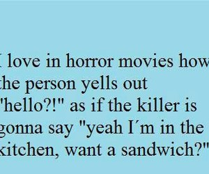 funny, horror, and killer image