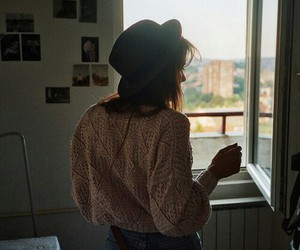 girl, vintage, and hipster image