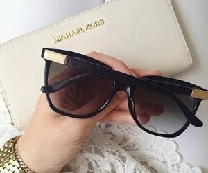 sunglasses, fashion, and Michael Kors image