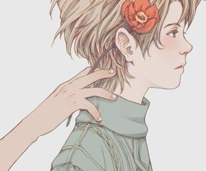 art cute boy image