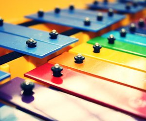 colours, xylophone, and cute image
