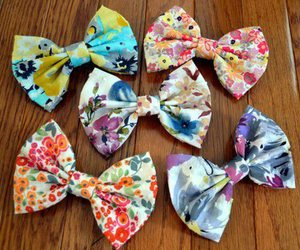 bow, cute, and colorful image