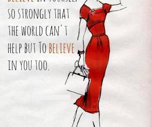 quotes, believe, and woman image