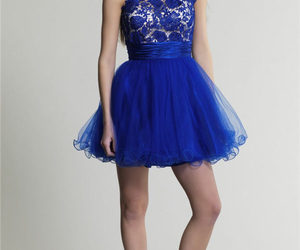 lace, short, and prom dress 2014 image