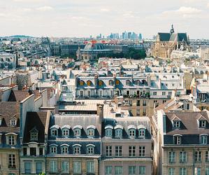 city, vintage, and paris image