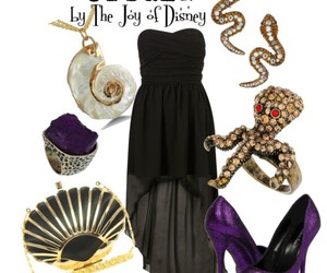 dress, the little mermaid, and fashion image