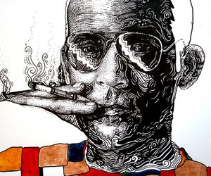 etsy, Bliss82, and Hunter S. Thompson image