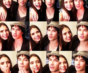 nian, ian somerhalder, and Nina Dobrev image