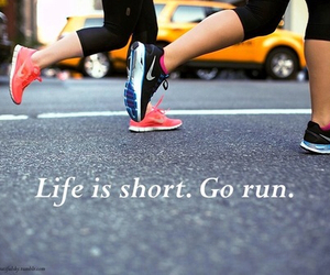 go, life, and run image